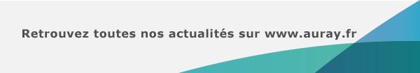 Retrouvez toutes nos actualités sur www.auray.fr