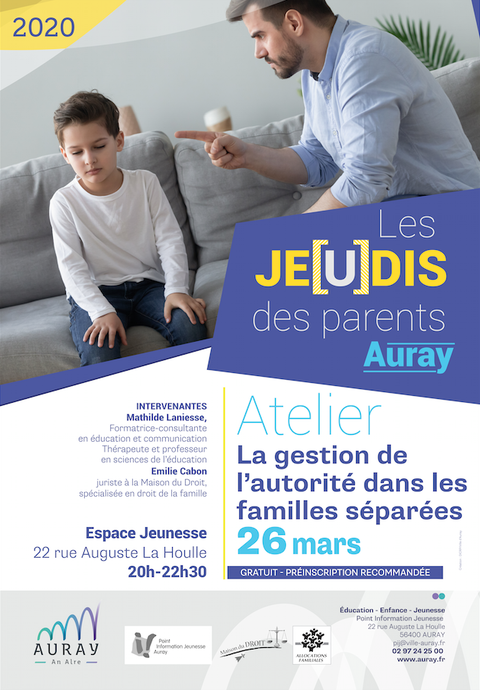 Jeudis des parents 26 mars